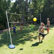 Backyard Combo Volleyball / Badminton Game