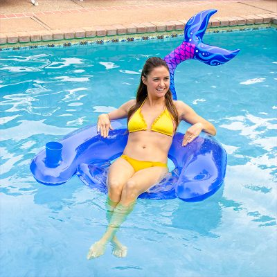 Mermaid Tail Sling Chair