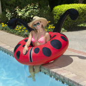 """48"""" Lady Bug Party Float"""