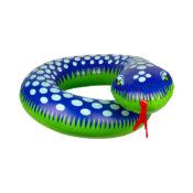 Blue Snake Split Ring
