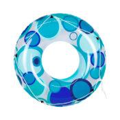 Teal Blue Bright Circles Tube